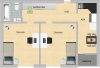 Planritning lägenhet